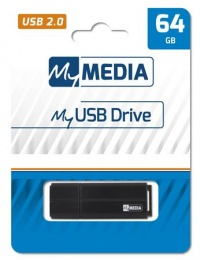 Pendrive, 64GB, USB 2.0, MYMEDIA